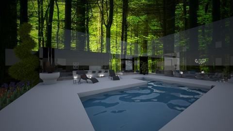 Luxury Modern House - Modern - by FabulousGirl35