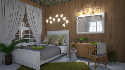 classic bedroom - Bedroom - by thelmatrovatten
