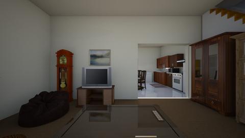 Tierrasanta Home - Living room - by WestVirginiaRebel