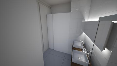 Master Bathroom v1 - Bathroom - by katznicolas