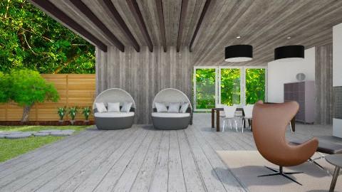 Inside Outside  - Living room - by Mirjeta Maxhuni