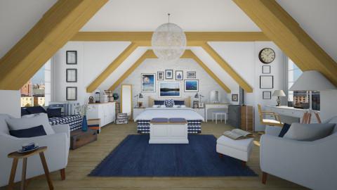 Hastens - Rustic - Bedroom - by maja97
