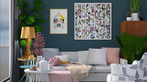 Modern Living - Living room - by HenkRetro1960