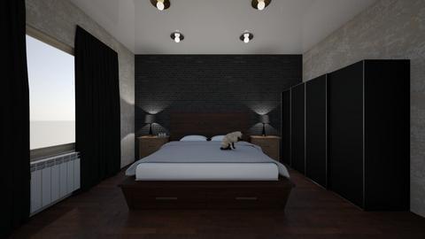 Bedroom Design - Minimal - Bedroom - by leyaaa