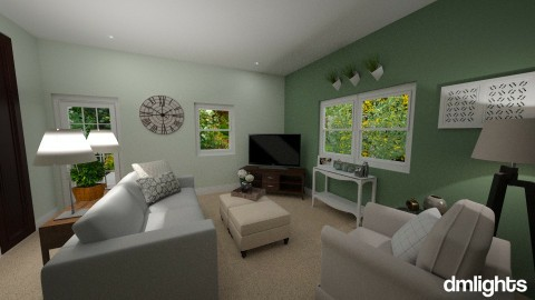 L Room Accent Color Proj - Classic - Living room - by DMLights-user-1383470