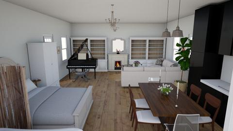 Tiny House - Minimal - Living room - by Bear3