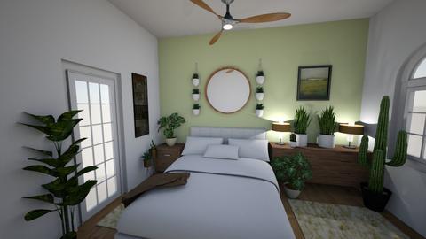 Plant Bedroom 1 - Bedroom - by brontevankesteren