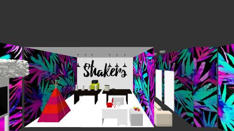 Shakers - by danielaovallegonzalez