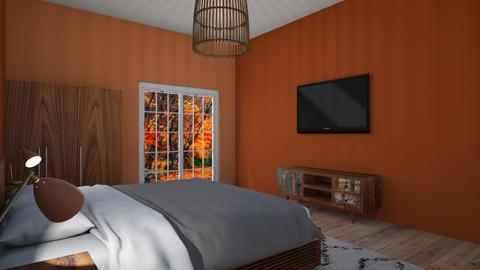 autumn room - Bedroom - by shaun the emu