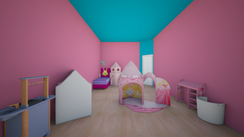 Little Sisters Dream Room - Kids room - by emiliabee