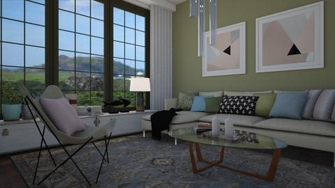 Living colors - Living room - by Tuitsi