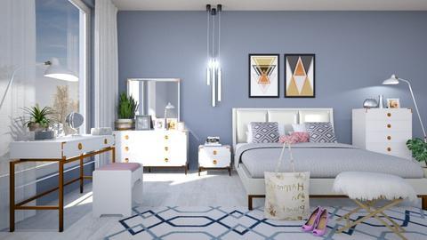 M_ Melrose - Modern - Bedroom - by milyca8