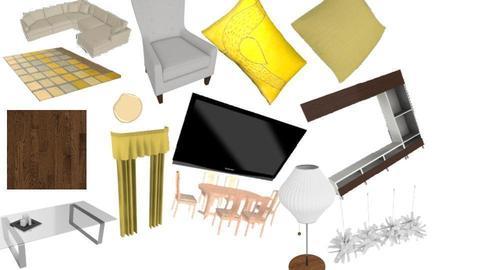 living room - by krigor1505