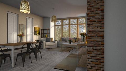 Template Baywindow Room - Living room - by BortikZemec