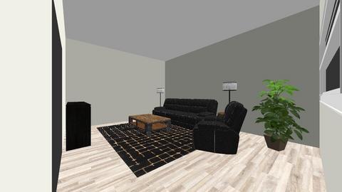 Nilen Family Room1 - Living room - by Mittemiller