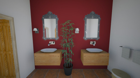colonial - Bathroom - by Pao Azuela
