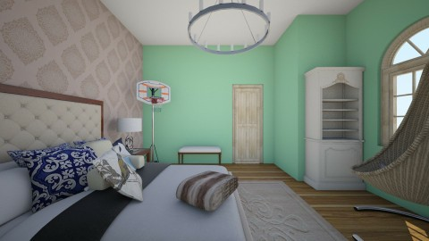 Anna Smith - Bedroom - by byersk