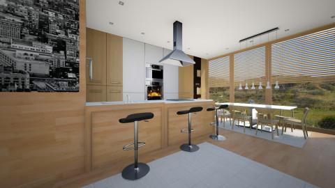 my love kitchen 4 - Modern - Kitchen - by sometimes i am here