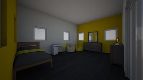 camera da letto gialla - Modern - Kids room - by mati07