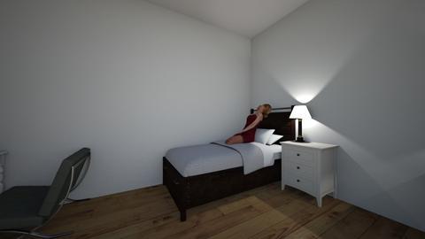 teenager twingirl bedroom - Bedroom - by Talitha j