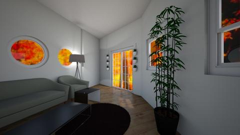 Flower Room - Living room - by Anna Weyer