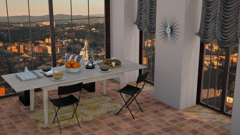 _sienna - Dining room - by stella_06