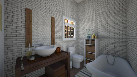 First property bath - Classic - Bathroom - by martinabb