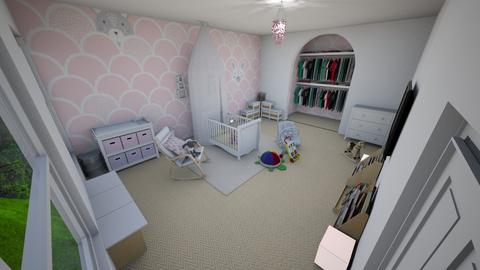 Daughters Nursery - Kids room - by leoleolion