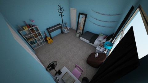 My Room - Modern - Bedroom - by BeckAsHeck