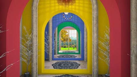 rainbow hallway - Glamour - by zayneb_17