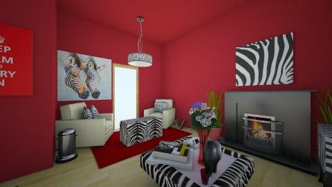 zebra room - by ballerina1