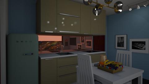 tiny house 3 - Minimal - Kitchen - by Brina Yunio