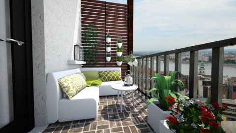 Balcony - Garden - by Tuija