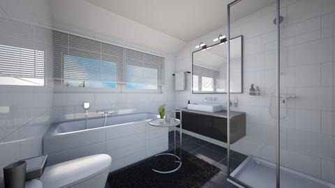 Paddestoelweg 150 02 - Modern - Bathroom - by Manon  Teken Visie