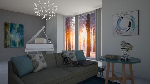 Suurtuba - Living room - by hannakristiine