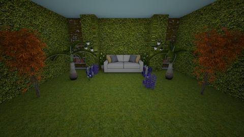 garden sitting room  - Garden - by southern gal 13
