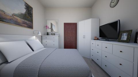 Sypialnia cioci Basi 05 - Bedroom - by Anna_Be