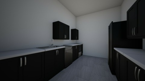 Galley_corridor kitchen - Modern - Kitchen - by alyssagray