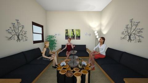 Womens Shelter 2 - Living room - by 20hvogel
