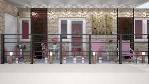 Balcony - by kla