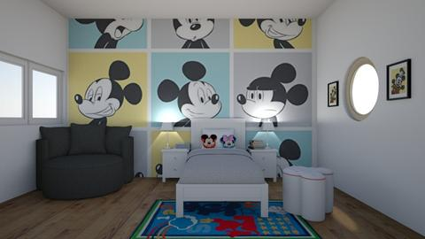 Mickey Mouse Bedroom - Kids room - by rileyemily