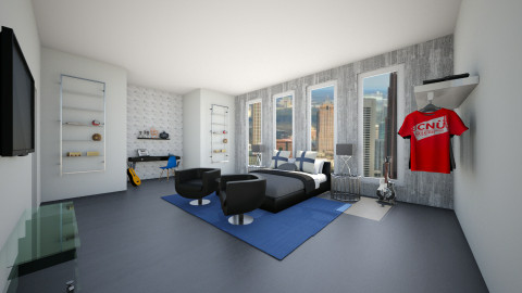 bachelor pad - by homeiswheredesignis