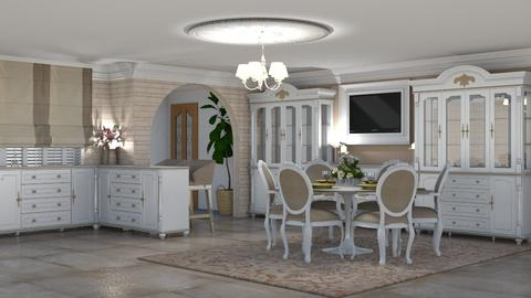 Chateau Seoige - Kitchen - by creato