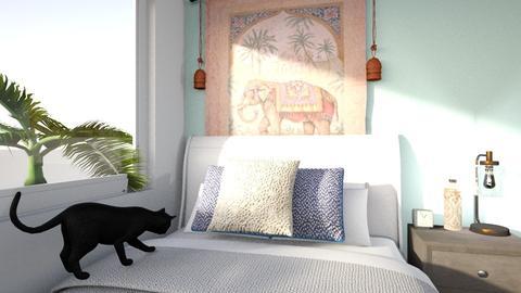 my bedroom now school - Bedroom - by leilani_maya
