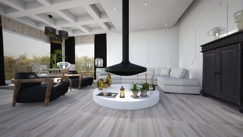 Citizen OAK - Living room - by ana111