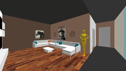 Master bedroom - Modern - Bedroom - by estrellarosales07