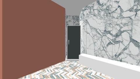 bohemian bathroom - by Iodid