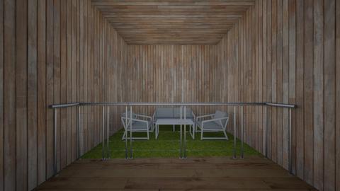 SE HACER BALCONES yuju  - Rustic - Garden - by silvitalaestilista