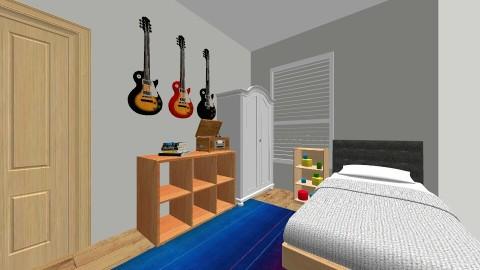 Kyles Room - Bedroom - by DanielleWakely