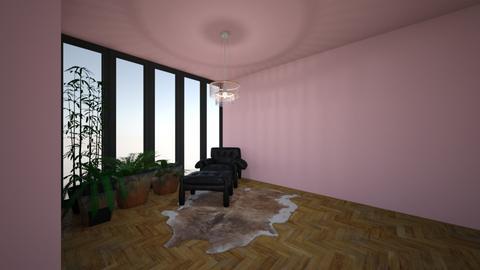 jungle kitty - Living room - by jupitervasconcelos